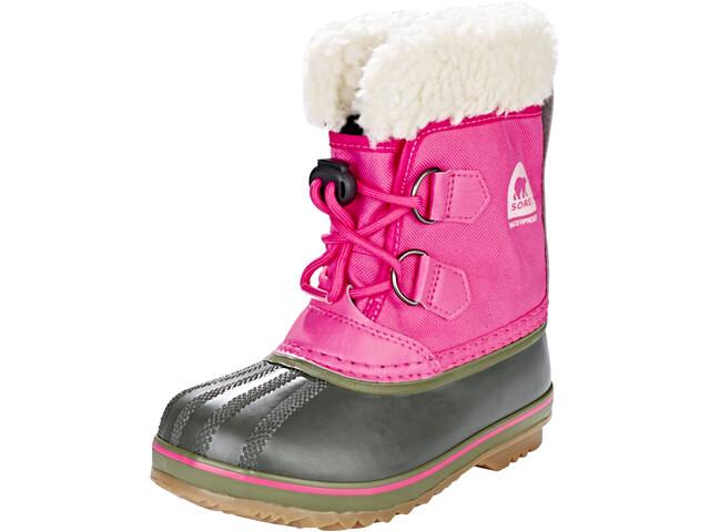 Sorel Yoot Pack Nylon Boots Kids ultra pink/alpine tundra